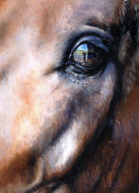 Eye of the Beholder - Oil